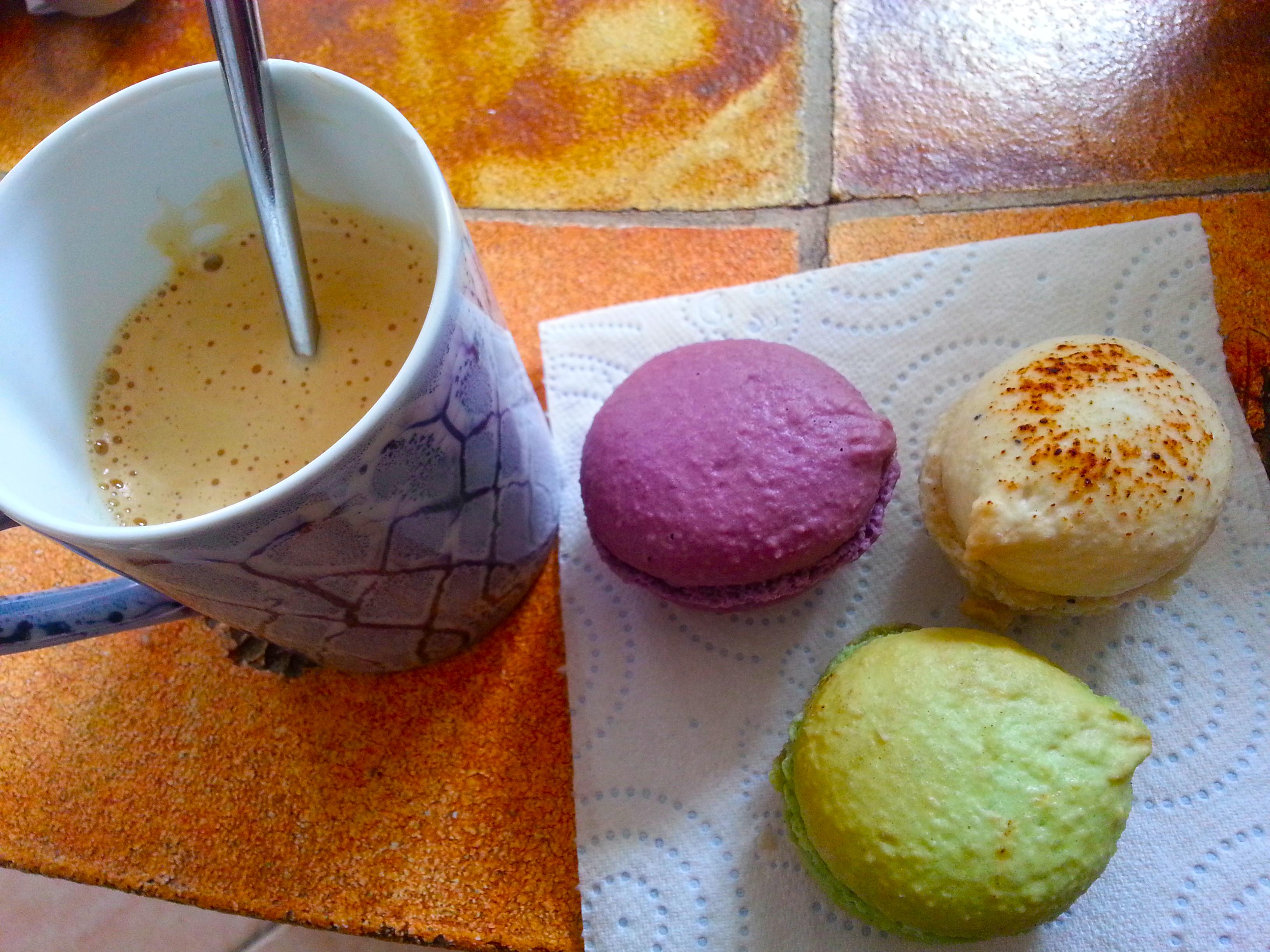 dégustation de macarons Foire de Printemps de Carros