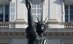 Statut de la Liberté Quai des Etats-Unis de Nice