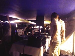 DJ soirée cave du bubble Regence plage nice