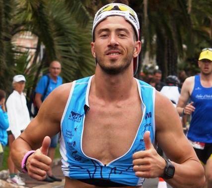 Fabien Dominski athlète ironman france nice finisher