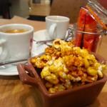 café malongo restaurant olve et artichaut vieux nice pop corn
