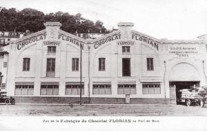 chocolaterie Florian vue historique confiserie florian port de nice