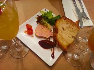foie gras olive et artichaut restaurant vieux nice