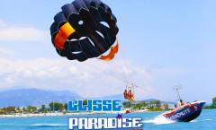 glisse paradise parachute ascensionnel côte d'azur