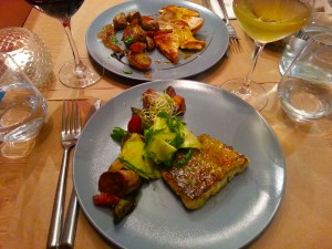 repas olive et artichaut restaurant vieux nice