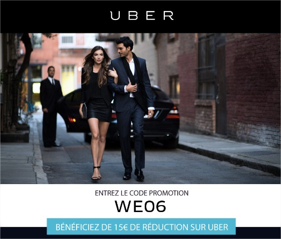 Uber Nice Côte d'Azur Promo Nice Weekend réduction