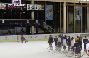 Entrainement Aigles de Nice Hockey Côte d'Azur