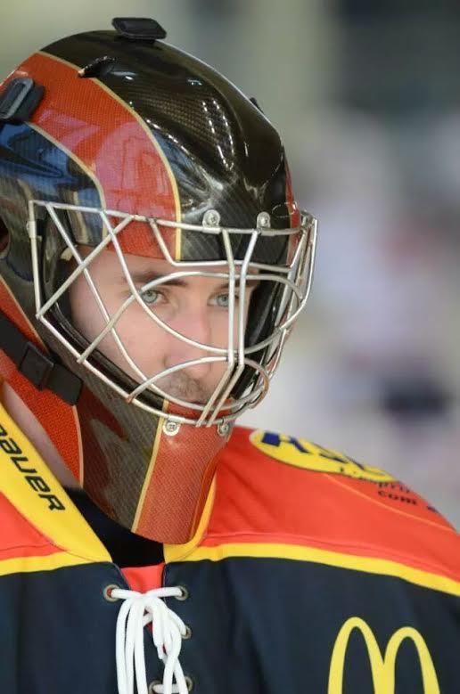 kevin fouassier gardien de but Nice Hockey Côte d'Azur