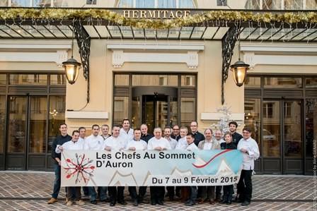 Festival de la Gastronomie de Montagne les chefs au sommet d'Auron