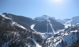 photo auron station ski
