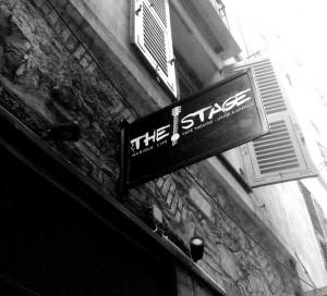 The Stage Vieux Nice musique live café théâtre apéro
