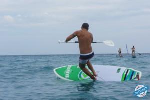 image stand up paddle nice chute