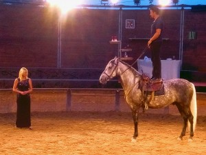 spectacle equestre nice Charles LAMARCHE Caroline BONHOMME