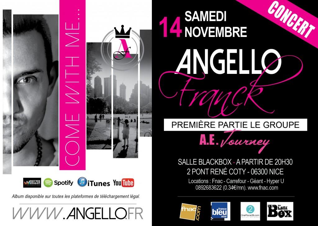 concert nice franck angello samedi 14 novembre