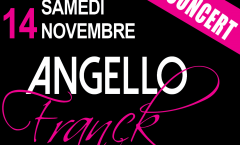 franck angello concert nice 14 novembre