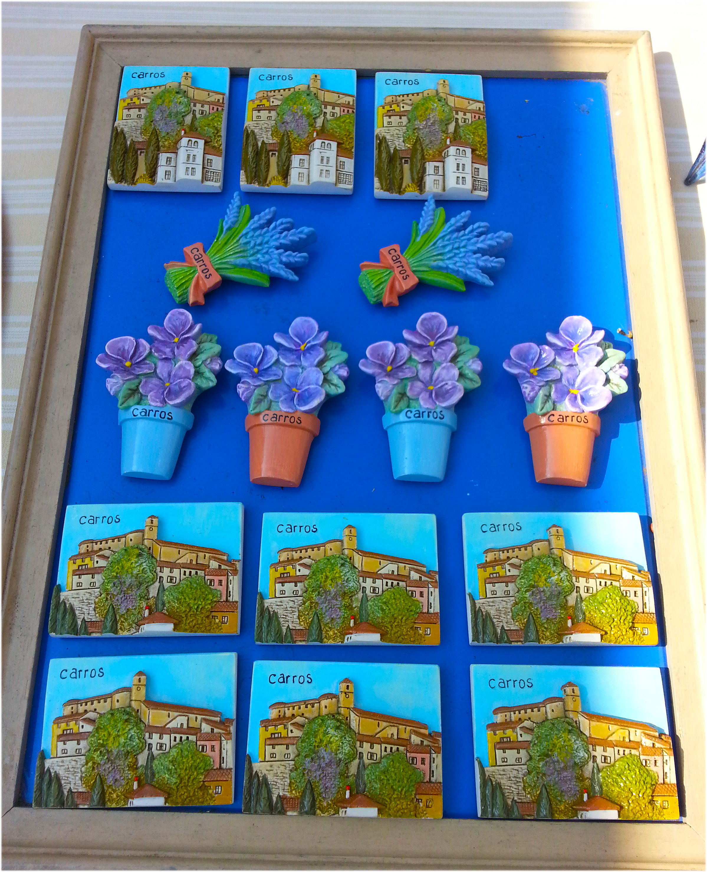 décorations avec Carros à la Foire de Printemps de Carros