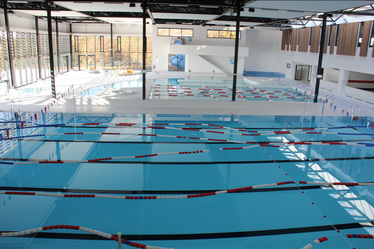 Nautipolis : piscine de Sophia-Antipolis