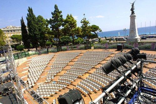 Nice : Théâtre de Verdure et ses Festivals