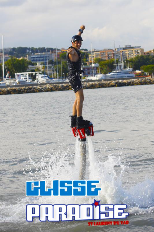 flyboard glisse paradise avec nice weeeknd