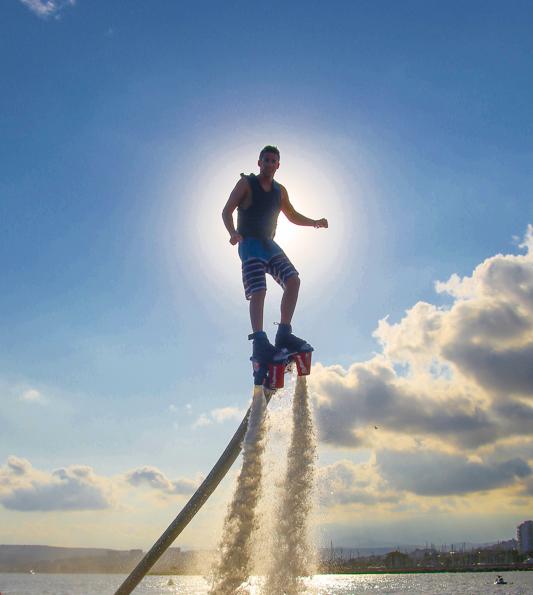 Flyboard sur la Côte d'Azur avec Glisse Paradise