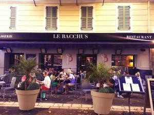 restaurant bacchus nice