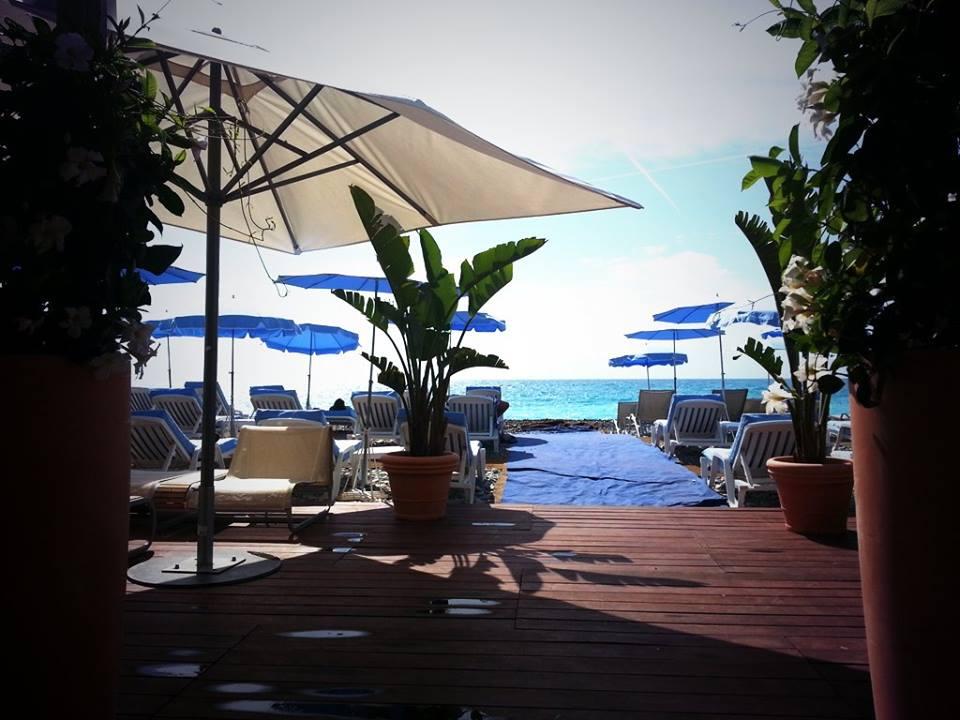La Régence Plage du Radisson Blu Hôtel à Nice