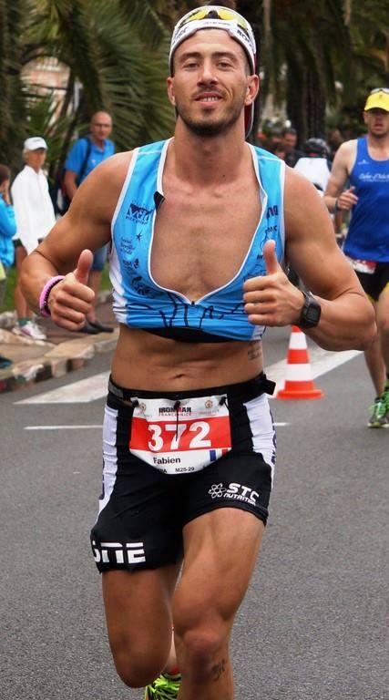 Fabien Dominski athlète ironman france nice
