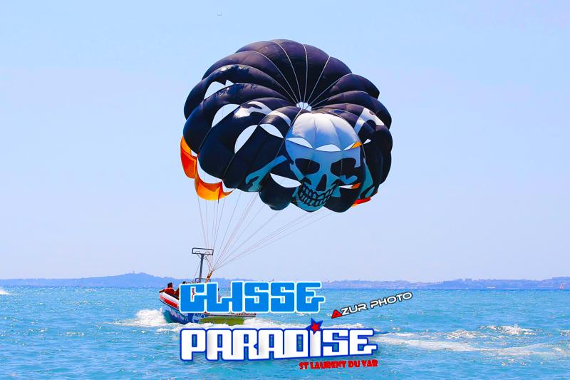 parachute ascensionnel côte d'azur glisse paradise