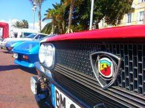 vieille auto de sport rallye jean behra historique édition 2014 nice