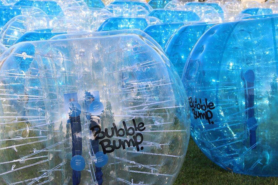 Bubble foot avec Bubble Bump Nice