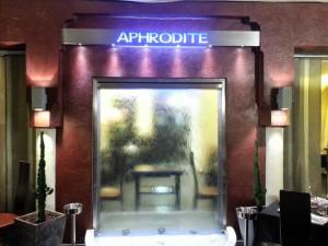 restaurant aphrodite nice décoration
