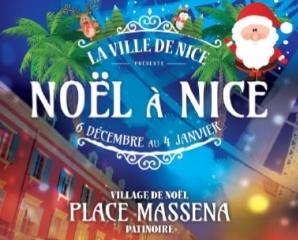 marché de noel village de noel nice place massena