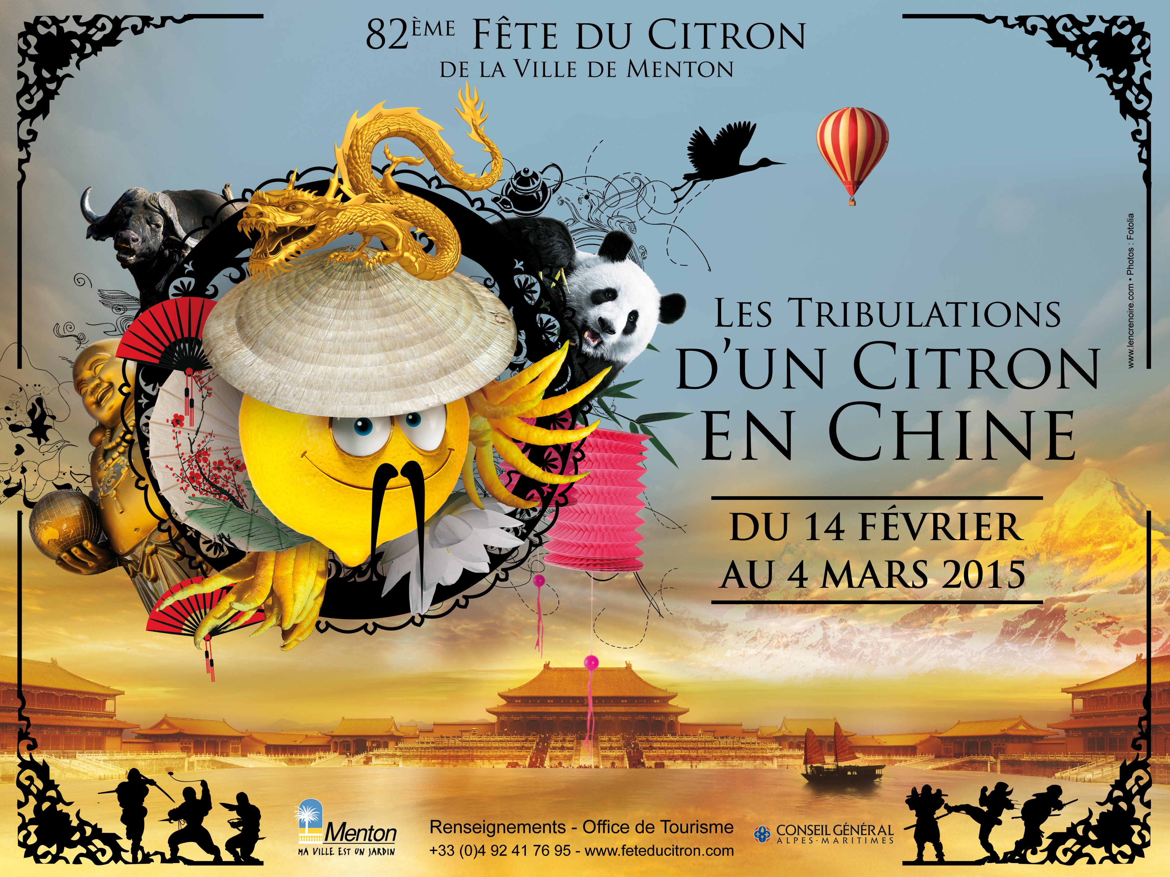 Fête du Citron à Menton : les tribulations d'un citron en Chine