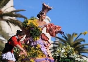 bataille de fleur carnaval de nice