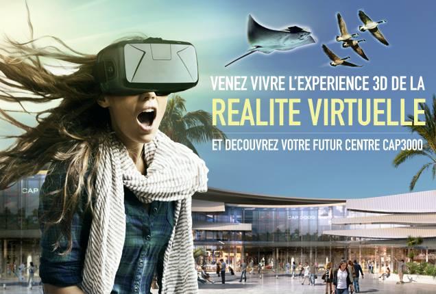 Expérience Oculus Rift à Cap 3000