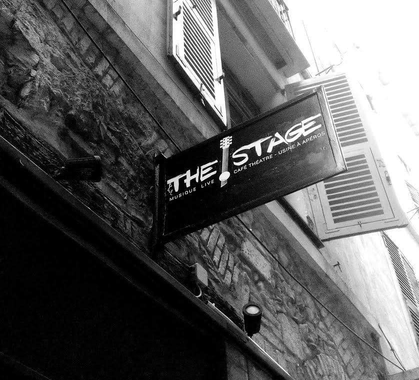 The Stage : café théâtre et musique live dans le vieux Nice