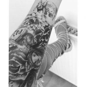exemple tatouage ephemere
