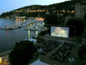 cinéma plein air nice villefranche sur mer
