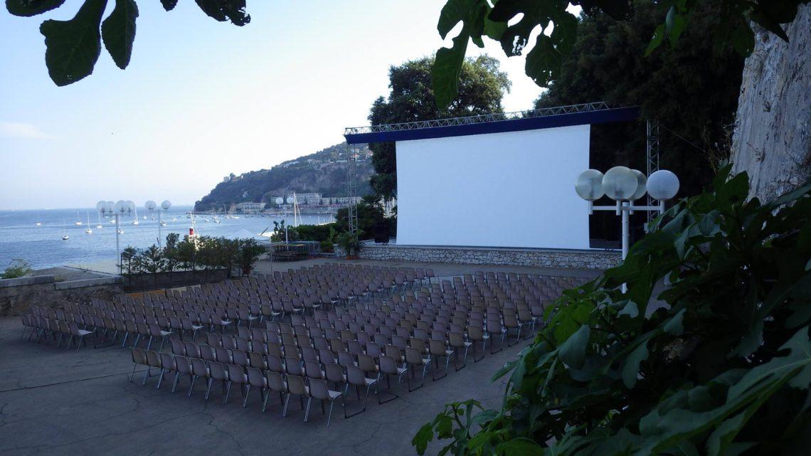 Cinéma en plein air vue mer