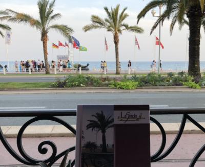 restaurant promenade des anglais bord de mer nice hôtel west end le siècle