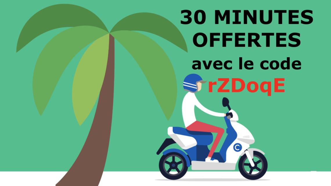 Location scooter électrique à Nice avec Cityscoot
