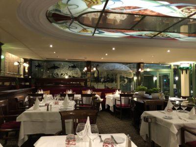 restaurant hôtel nice bord de mer west end Le Siècle