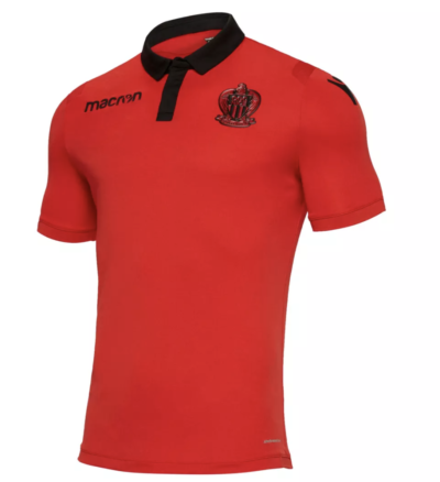 acheter maillot rouge ogc nice extérieur saison 2018 2019