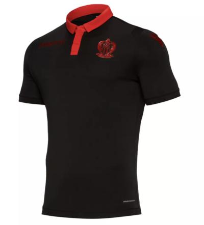 acheter maillot noir ogc nice saison 2018 2019 extérieur