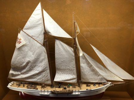 maquette voilier musée océanographique monaco