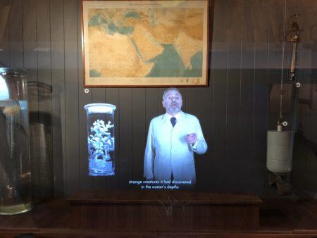 hologramme musée océanographique monaco
