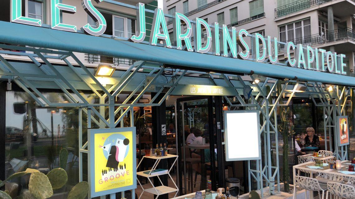 Restaurant Promenade des Anglais : Les Jardins du Capitole