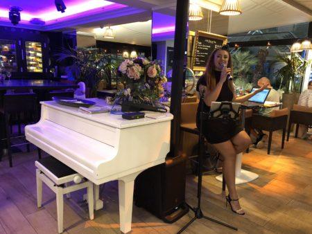restaurant live music nice promenade des anglais les jardins du capitole