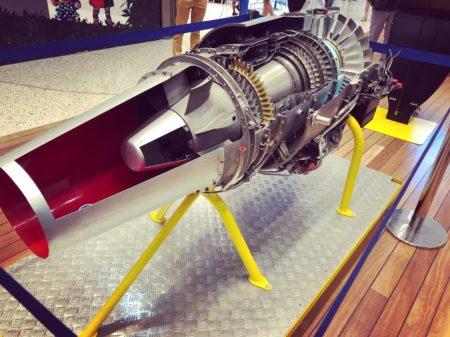 moteur avion de chasse