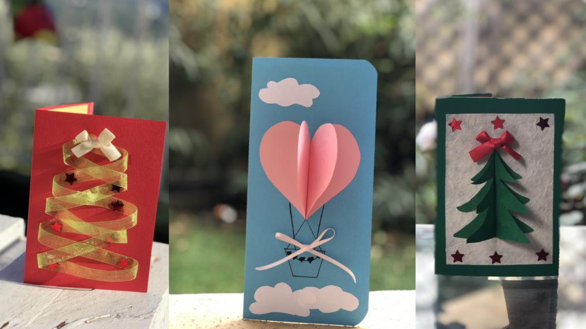 Cartes de voeux personnalisées faites à la main by Art de Carte